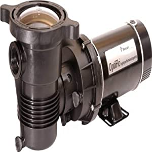 Pentair 340090 OptiFlo Vertical Discharge Aboveground Pool Pump without Cord and Switch, 1-1/2 HP, 60-Hertz