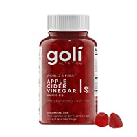 World's First Apple Cider Vinegar Gummy Vitamins by Goli Nutrition - Immunity, Detox...