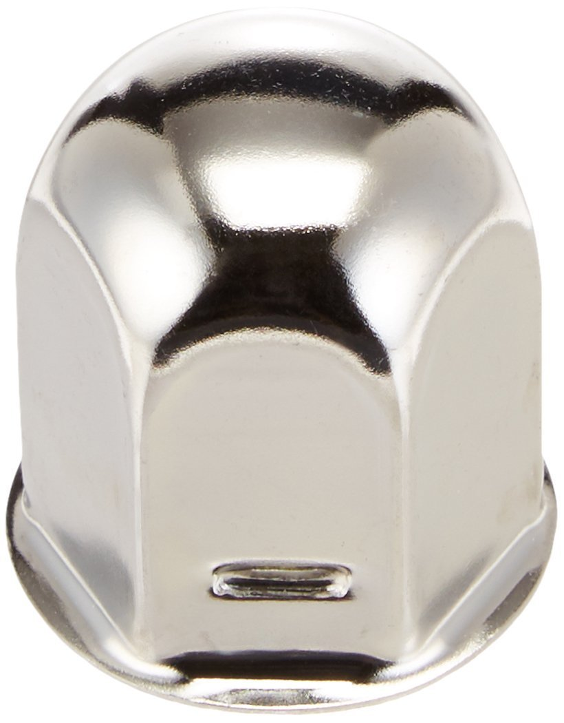 Dicor V195F9-EJN-MF Jam Nut with Cover - 27 mm, Chrome (Quantity 4)