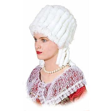 Histórico de la peluca de la peluca de la Edad media para mujer María Antonieta de