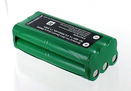 Batería compatible con Dirt Devil Libero M606 presupuesto/Lavado