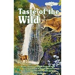 Taste of the Wild, Rocky Mountain Feline Formula with Roasted Venison & Smoked Salmon, Net Wt 15 Lbs
