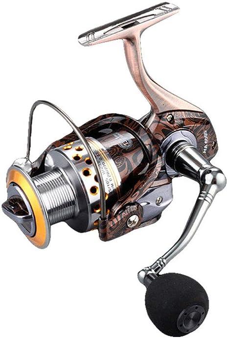 CDKZK 13 + 1BB Carrete de Spinning 5.2:1 Carrete de Pesca, Carrete ...