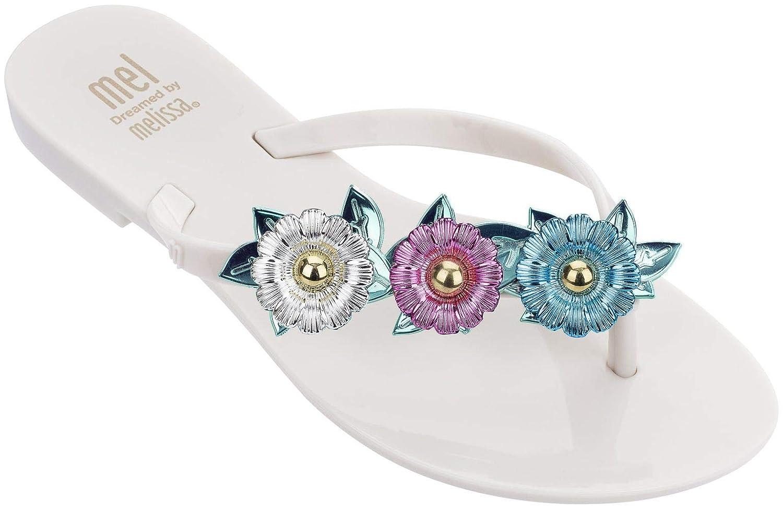 d084dc8fa8ba Mini Melissa Kids  Mel Harmonic Garden Chrome Slipper  Amazon.co.uk  Shoes    Bags