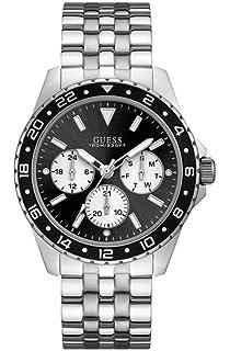756687e6ad2a Guess Hommes Chronographe Quartz Montre avec Bracelet en Acier ...