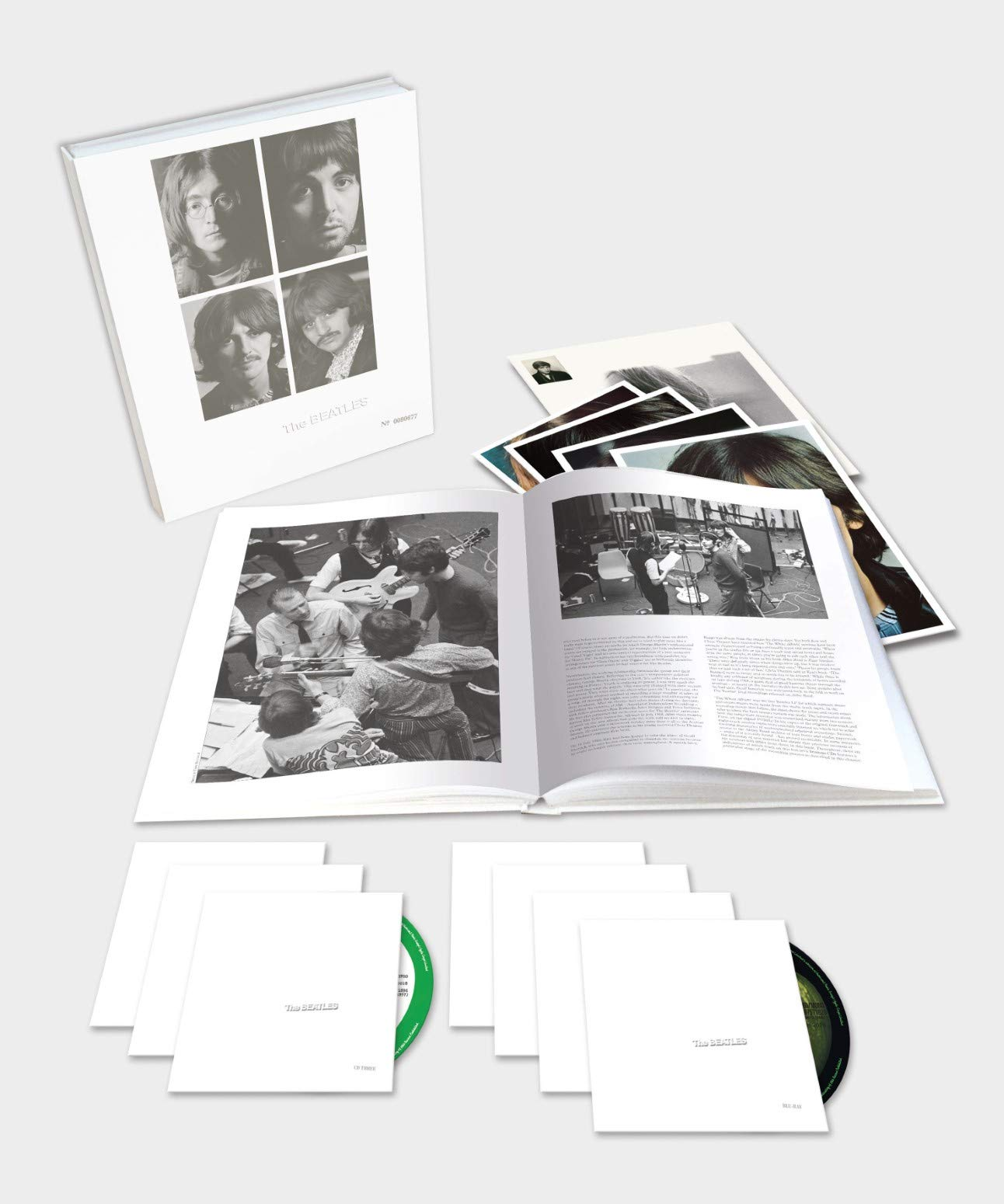 CD : The Beatles - The Beatles (the White Album) (With Blu-ray, Boxed Set)