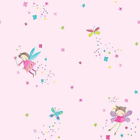 Arthouse 667100 Fairy Dust Wallpaper Pink 53 Cm X 1005 M