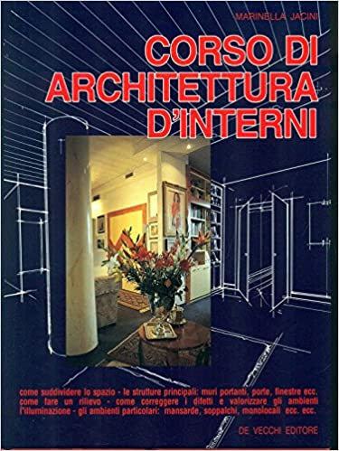 Corsi Di Architettura D Interni.Amazon It Corso Di Architettura D Interni Jacini Marinella Libri