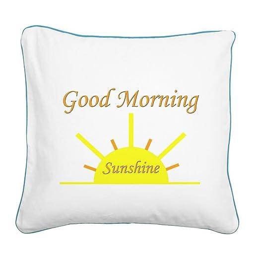 CafePress Good Morning Sunshine.PNG Accent Almohada: Amazon ...