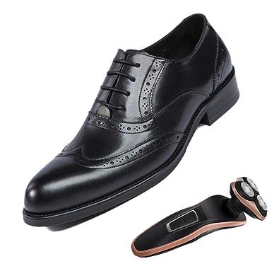 LZMEG Derby Quatre Saisons Brock Chaussures De Travail pour