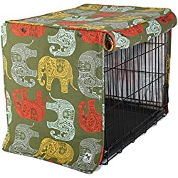 Molly Mutt Dog Crate Cover, Elephant Parade, Big
