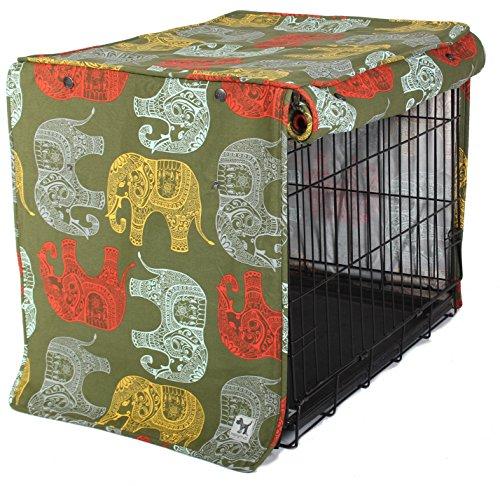 Molly Mutt Elephant Parade Crate Cover, Small by Molly Mutt