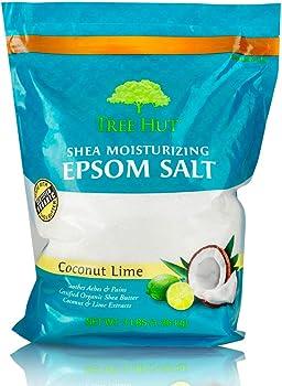 Tree Hut Shea Moisturizing Coconut Lime 3lbs Epsom Salt