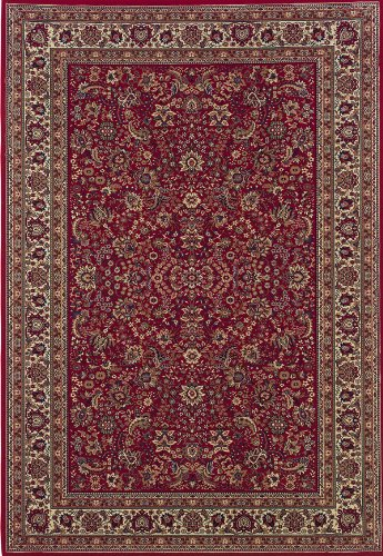 - Oriental Weavers Ariana 113R Area Rug, 4' x 6', Red