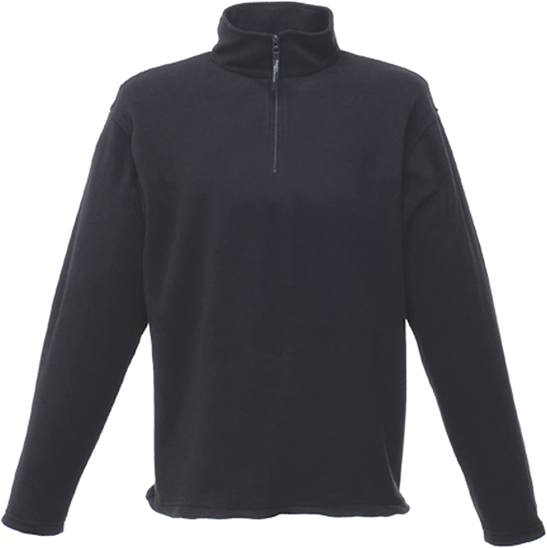Regatta Mens Micro Zip Neck Fleece Top XS Blue