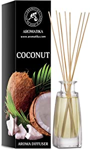 Coconut Aroma Diffuser 100ml - Reed Diffuser - Room Fragrance - Home Fragrance - Air Freshener - Coconut Scented Diffuser