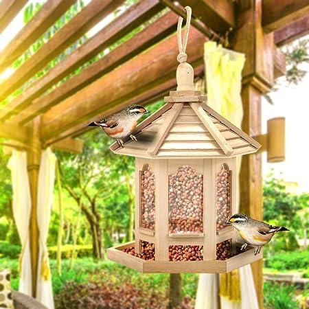 Mangeoire /à oiseaux en bois