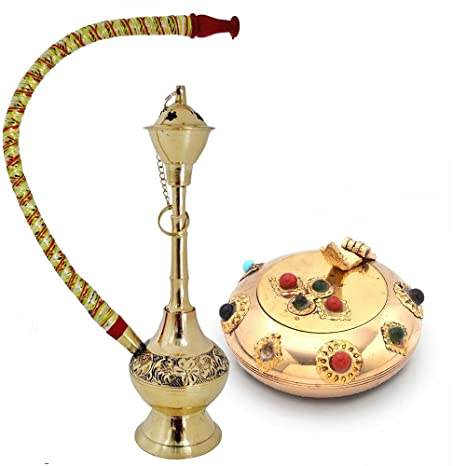 Buy Colorful Meenakari Hukka n Get Ash Tray Free Ashtrays at amazon