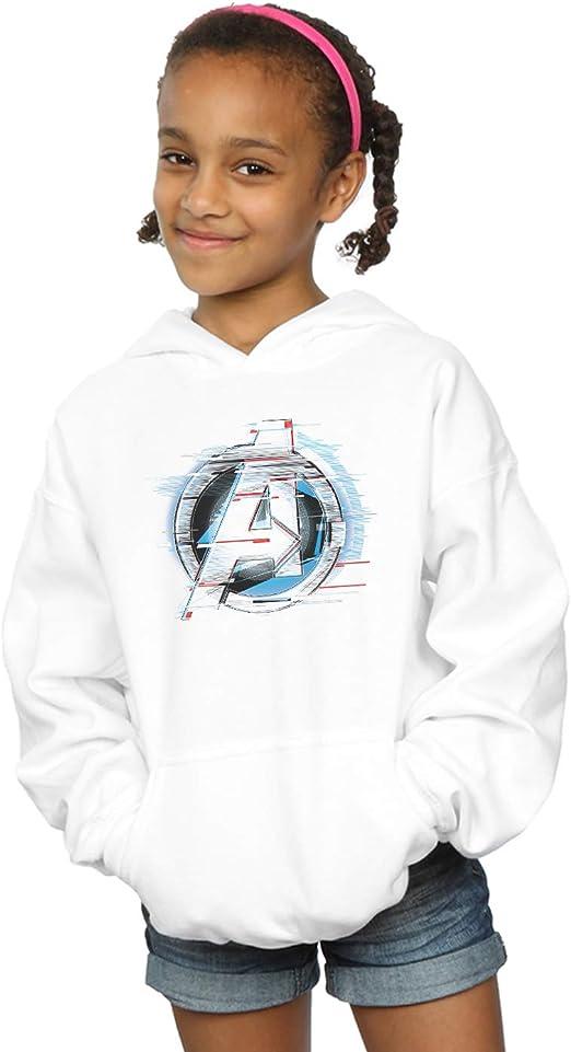 Marvel Fille Avengers Endgame Team Tech Logo Sweat À Capuche