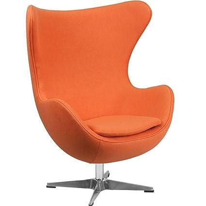 Amazoncom Retro Egg Chair Dimensions 3375w X 30d X 43h Seat