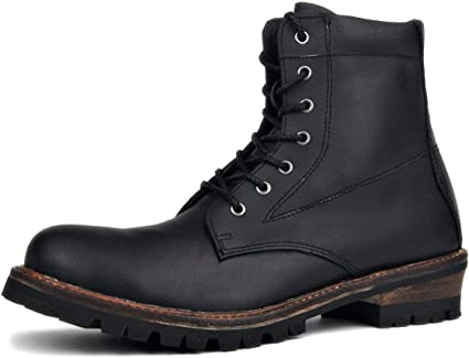 SHANHEYY Biker Boots Motorcycle Leather