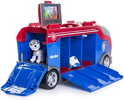 Robo Dog and Vehicle Paw Patrol Mission Paw Mission Cruiser