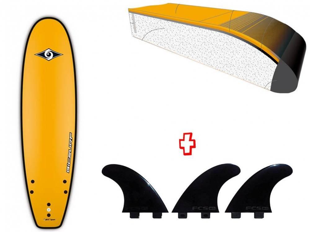 【在庫処分】 BIC SPORT(ビックスポーツ) サーフボード 6'0'' Evo スポンジボード スポンジボード [100770] Evo ボード サーフボード ソフトボード B0119UKDZG, 師勝町:fb909b16 --- svecha37.ru