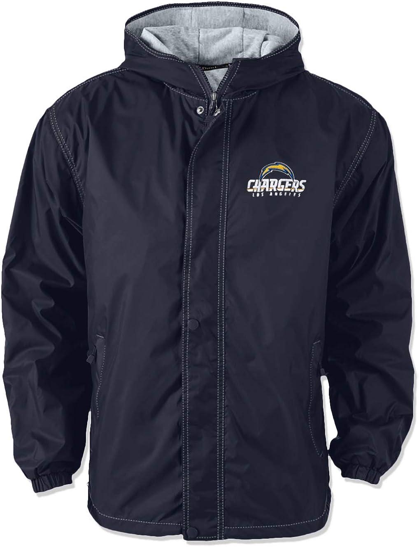 Dunbrooke Apparel Mens Legacy Nylon Hooded Jacket