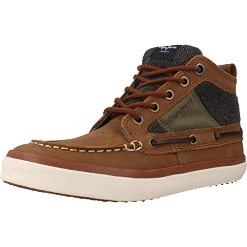 Sneakers marroni per bambini Pepe Jeans Nueva Venta Online k4AIE