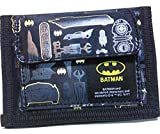 Batman Logo Bifold Wallet Coin Purse Card Holder Organizer