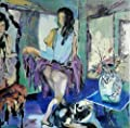 Lady in Front of a Mirror By Original Artist - Chen DeJun. Museum Quality Oil Painting. (Unframed and Unstretched).