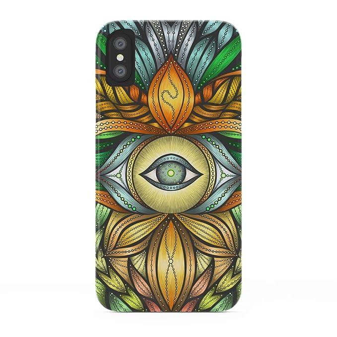 san francisco 7415b a6773 Amazon.com: Society6 iPhone X Cases, Featuring Visionary Art - Luna ...