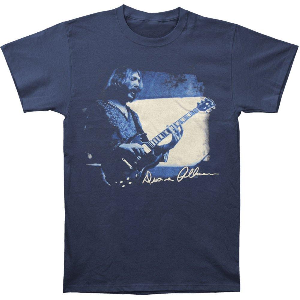 96b282b568b Amazon.com  FEA Duane Allman Quote Short Sleeve Graphic T-Shirt  Clothing
