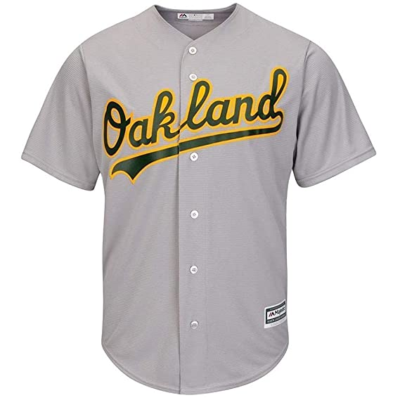 wholesale dealer f8ccf e13a4 Majestic Athletic Oakland Athletics Cool Base MLB Replica ...