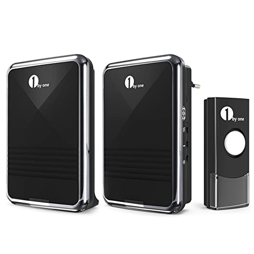 68 opinioni per 1byone Kit per Campanello Wireless Senza Fili, Wireless Doorbell con 1