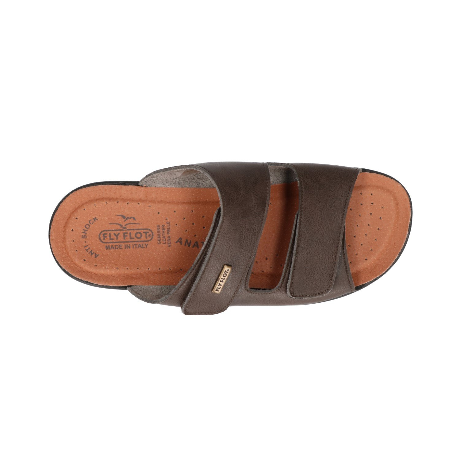 7f9747d8bcc0 Fly Flot Men s 62021UE Slippers Brown Brown Brown Size  10  Amazon.co.uk   Shoes   Bags
