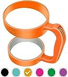 Smaid Anti Slip Rubber Handle for 30 oz Tumblers - Orange
