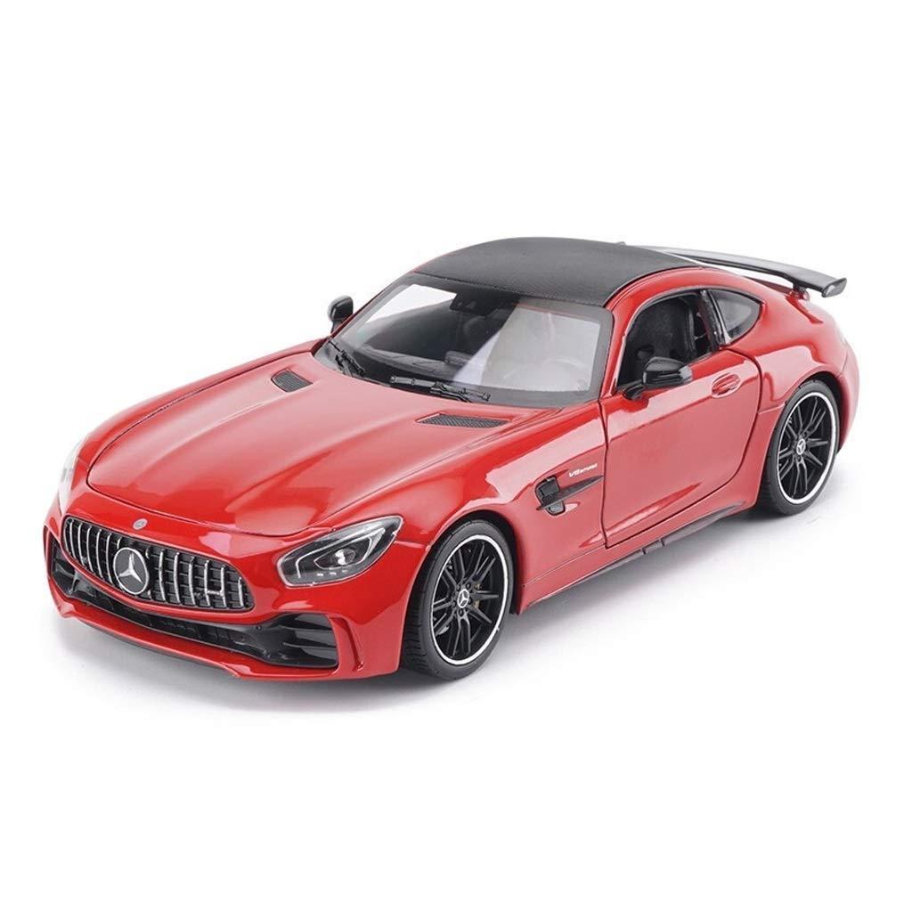 KaKaDz Wei Modelli in Scala 1 24 Mercedes-Benz Sports Car AMG GT-R in Scala, Auto in Lega, Giocattoli in Metallo per Bambini   Tirare Indietro la Funzione