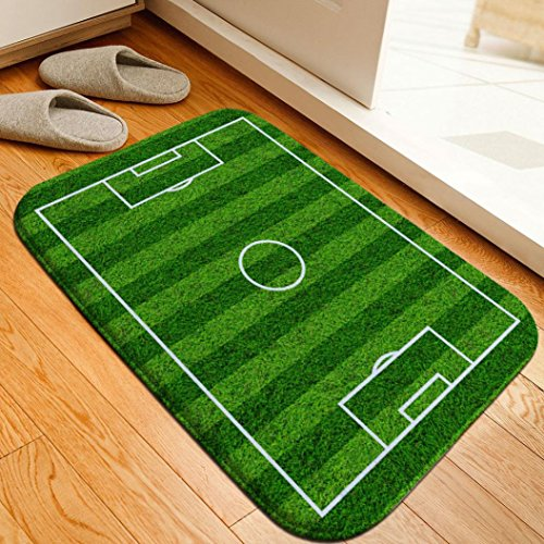 2018 World Cup Mat,Ikevan Football Venue Pad Wear-Resistant Dust-Absorbing Non-Slip Mats Carpets (Design A) (Discount Router Bits)