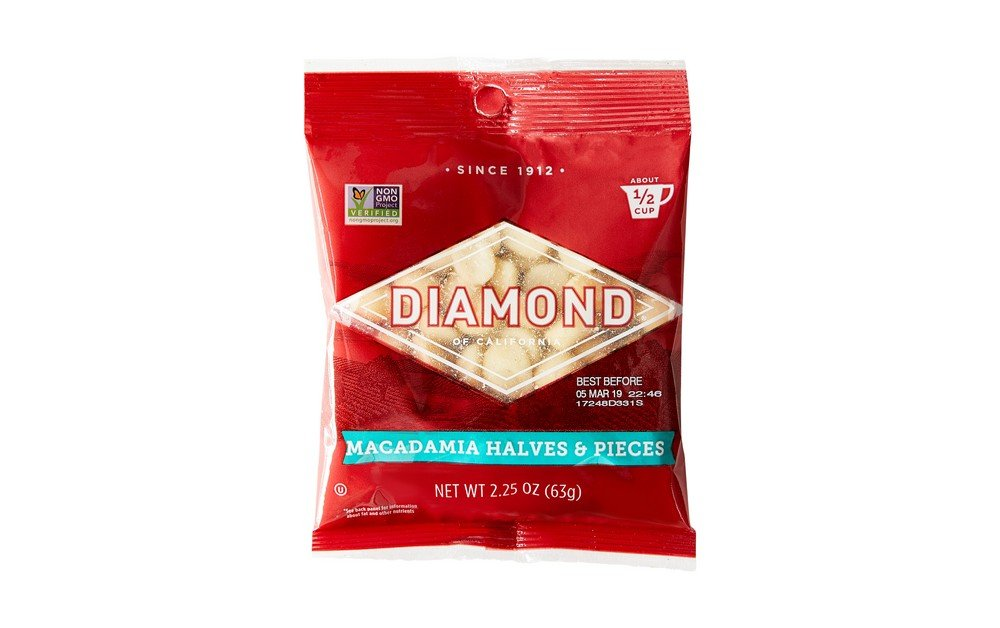 Diamond of California, Chopped Macadamias, 2.25 oz.