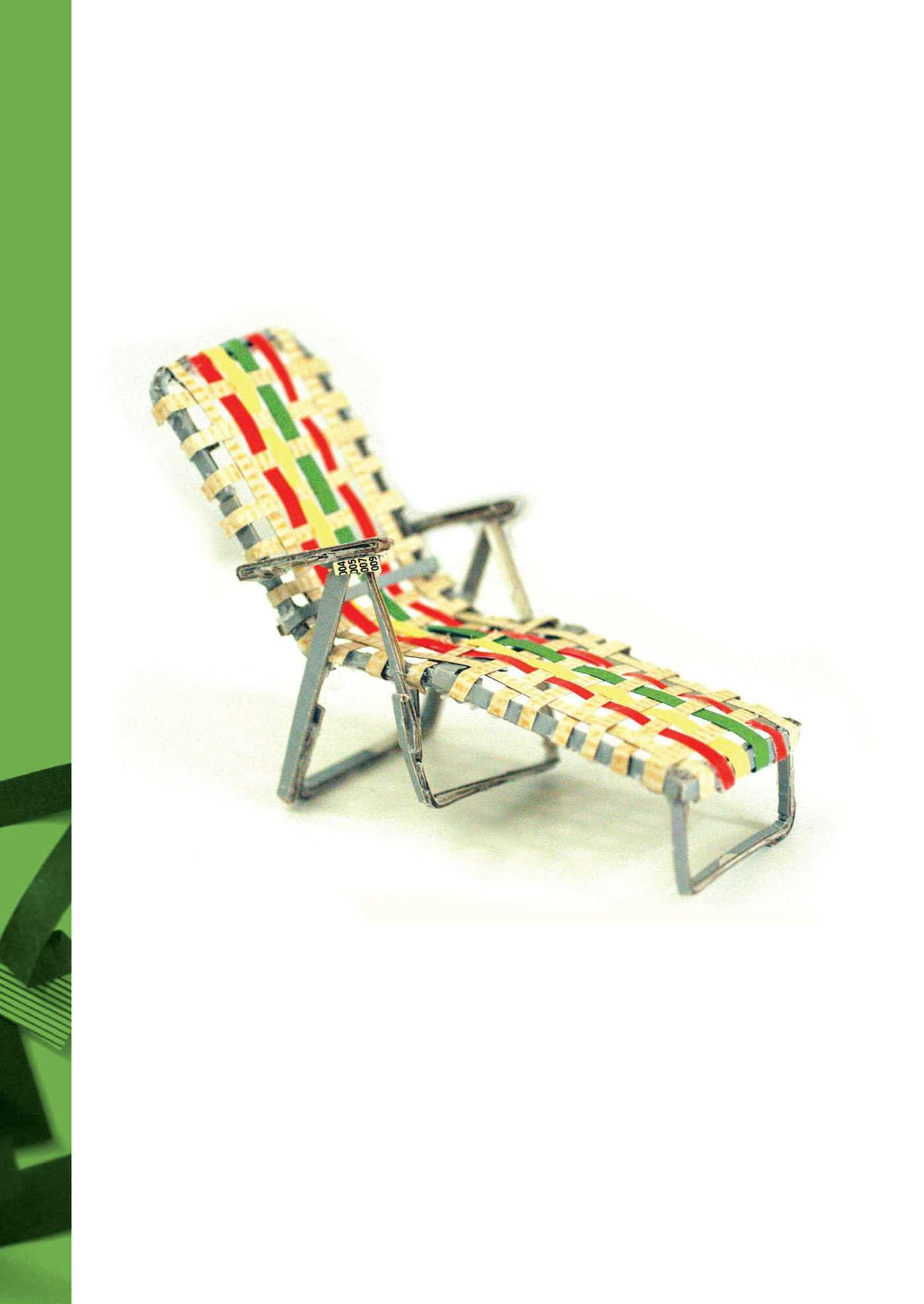 Scraps Journal Chaise Lounge Chair