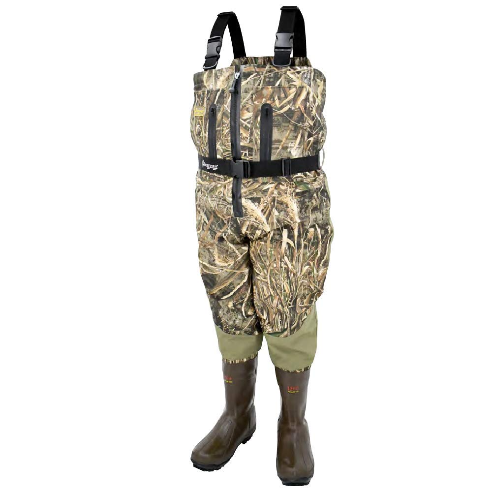9682dc4b1f863 Amazon.com : Frogg Toggs Grand Refuge 2.0 Zip-Front Bootfoot Wader, Cleated  Outsole, Camo : Sports & Outdoors