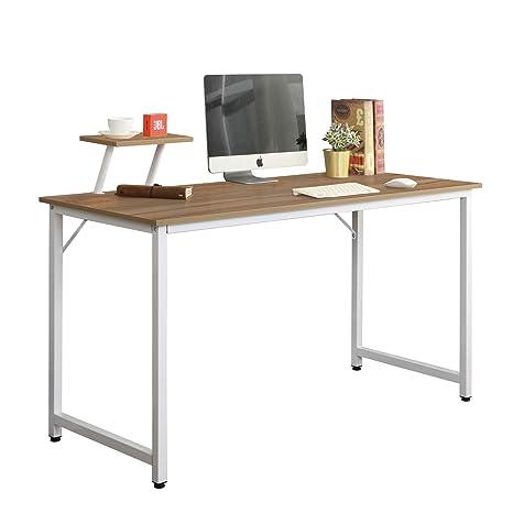 soges escritorios 100 x 50 cm mesa de ordenador compacto resistente Home escritorio oficina escritorio para reunión formación escritorio estación de ...