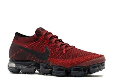 Nike Men's Air VaporMax Flyknit Running Shoe (Sz. 11) Dark Team Red