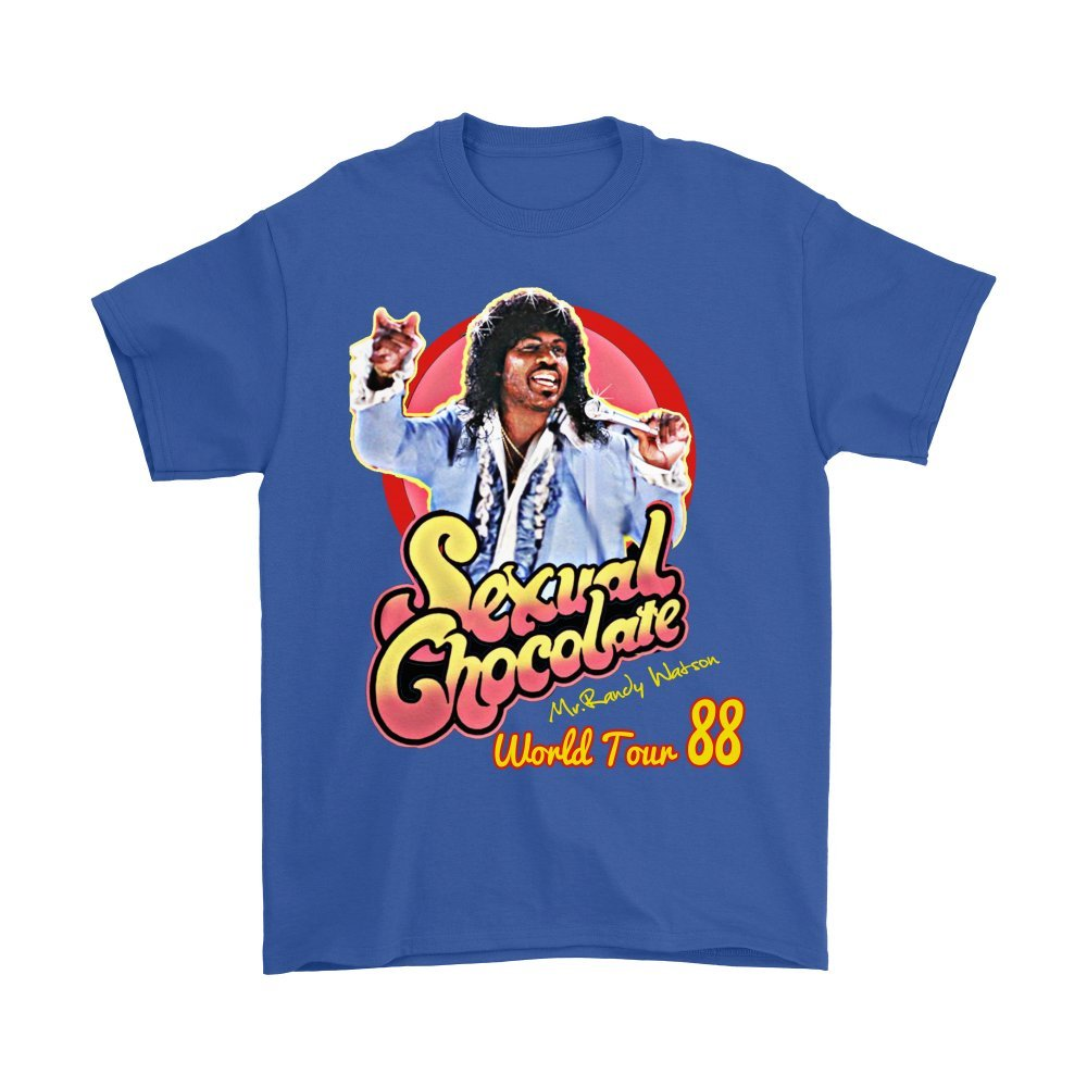 Dealcry Sexual Chocolate Randy Watson Eddy Murphy 1988 World Tour Funny t Shirt