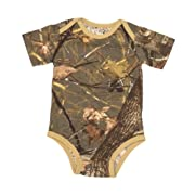 Kings Camo - Infant Body Suit - Woodland Shadow