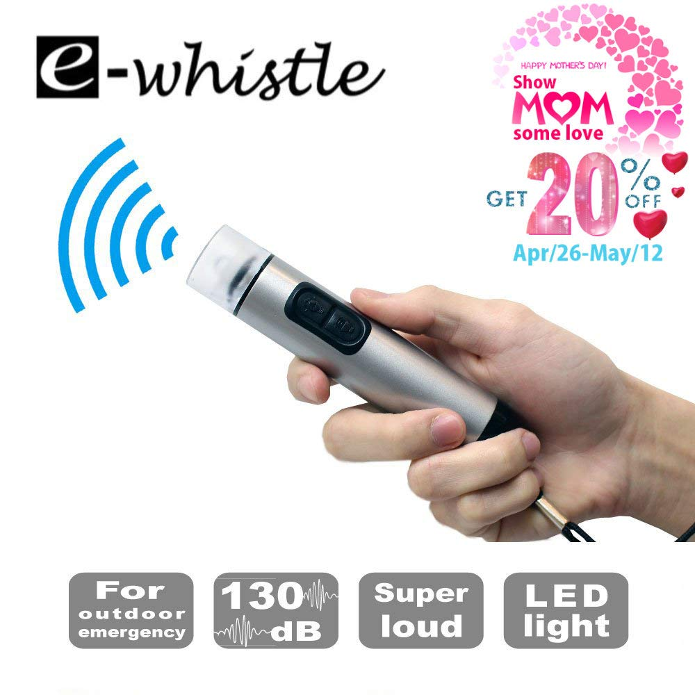 e-whistle 電子ホイッスル e-whistle | ハイキング キャンプ 自己防衛 スポーツアクティビティ 超大音量 | 超大音量 キャンプ B07MYTB6XZ, こだわりの銘酒谷本酒房:dd146c9c --- gallery-rugdoll.com