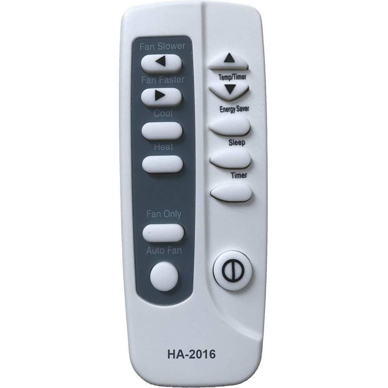 HA-2016 Replaces Frigidaire Air Conditioner Remote Control YN1G2 5304459455 5304459995 5304465361 works FAZ08HS1A13 FAZ08HS1A14 FAZ08HS1A15 FAZ08HS1A16 FAZ12HR2A FAZ12HR2A2 Home Appliances Inc Of ShenZhen Air conditioner Parts