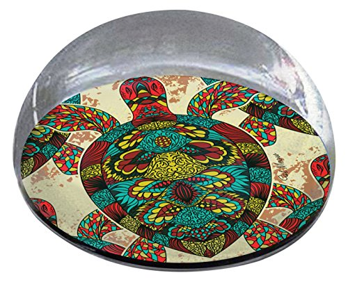 "Forever Crystal ""Patterned Turtle Pet Memorial Magnet from Forever Crystal"