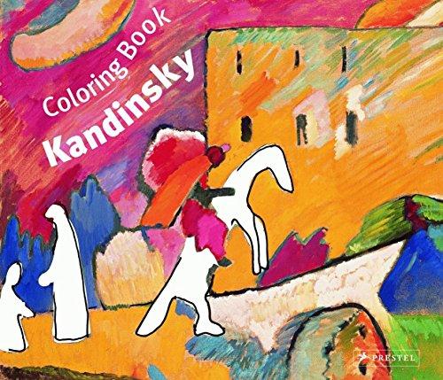 Coloring Book Kandinsky (Prestel Colouring Books)